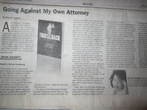 """Fight Back Legal Abuse"" & Rose Colombo featured in prestigious L.A. Law Journal"