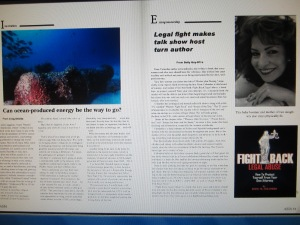 Rose Colombo's award winning book featured in prestigious worldwide magazine!