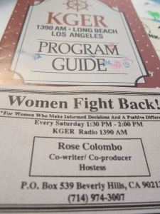 Rose Colombo, Founder, Women Fight Back, author and Legal Advocate for Justice