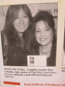 Rose Colombo, hits the news....