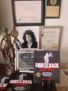 Rose Colombo, author, Fight Back Legal Abuse; Radio Host; Consumer Advocate for Justice; www.rose4justice.com